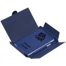 """Подарочный набор ежедневник с ручкой """"Lecco"""" с гравировкой"""