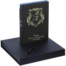 """Подарочный набор ежедневник с ручкой """"Sondrio"""" с гравировкой"""