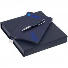 """Подарочный набор ежедневник с ручкой """"Viterbo"""" с гравировкой"""