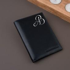 """Обложка для паспорта """"Borneo"""" с именной гравировкой"""