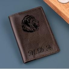 """Обложка для паспорта """"Tenerife"""" с именной гравировкой"""