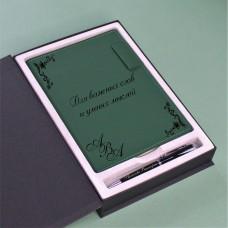 """Набор ежедневник с ручкой """"Modum"""" c персонализацией"""