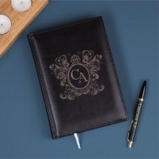 """Набор ежедневник с ручкой """"Factor"""" c персонализацией"""
