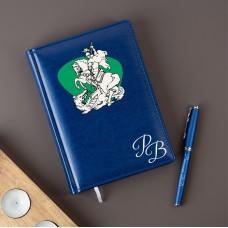 """Набор ежедневник с ручкой """"Favor"""" в подарочной коробке с УФ печатью"""