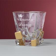 """Стакан для виски """"Ardbeg"""" в подарочной коробке с гравировкой"""