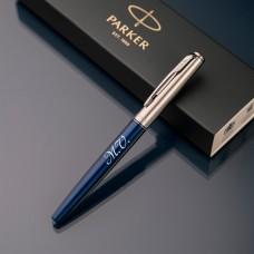 Ручка-роллер Parker Jotter с именной гравировкой, цвет синий