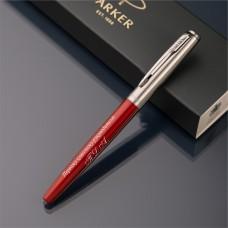 Ручка-роллер Parker Jotter с именной гравировкой, цвет красный