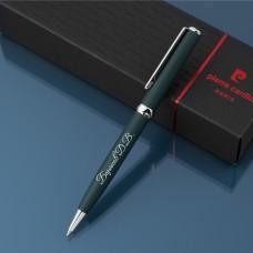 Шариковая ручка Pierre Cardin с гравировкой, цвет тёмно зеленый