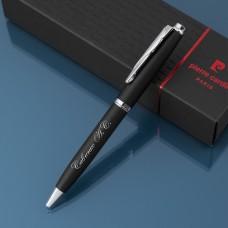Шариковая ручка Pierre Cardin с гравировкой, цвет черный