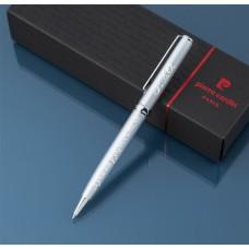 Шариковая ручка Pierre Cardin  с гравировкой, цвет серебристый